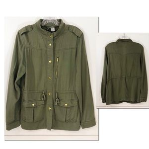 H&M Divided Military Style Jacket || 6 ||
